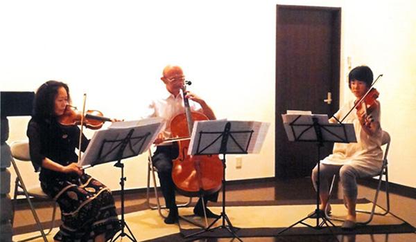 年一回の軽井沢でのクラシックコンサート